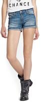 MANGO Medium Wash Shorts