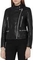 Reiss Erin Leather Jacket