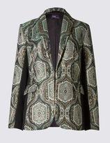 Marks and Spencer Brocade Print Jacket