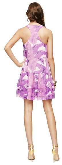 Juicy Couture Tank Palmetto Print Dress