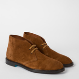 Mens Tan Suede Boots - ShopStyle
