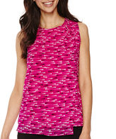 WORTHINGTON Worthington Wrap Tank Top - Tall