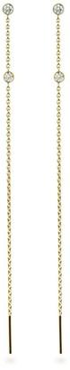 Lena Cohen Fine Jewellery 18K Yellow Gold Diamond Chain Threaders