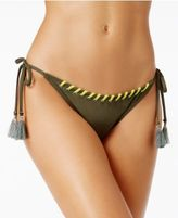 Vince Camuto Side-Tie Lace-Up Bikini Bottoms