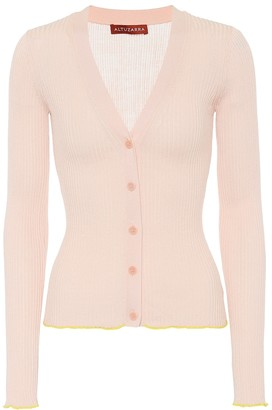 Altuzarra Harwell silk and cotton cardigan