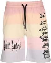 Palm Angels Gothic Rainbow Shorts