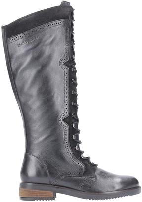 Hush Puppies Rudy Knee High Boots - Black