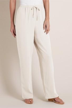 Talls Silk Drawstring Pants