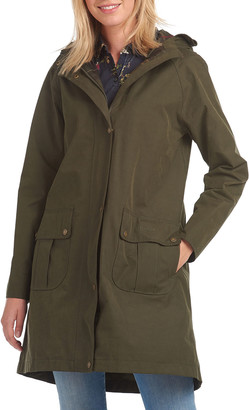 Barbour Linwood Hooded Rain Jacket