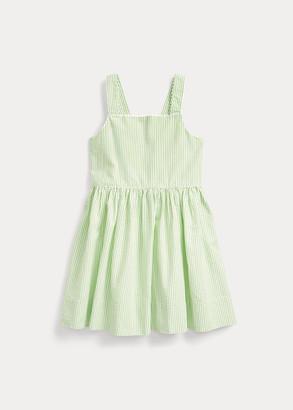 Ralph Lauren Cotton Seersucker Dress