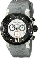 Mulco Men's MW5-3219-021 Prix Tire Analog Display Swiss Quartz Grey Watch