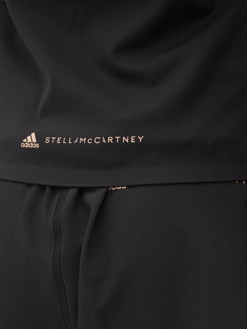 Thumbnail for your product : adidas by Stella McCartney Truepurpose Recycled-fibre Blend Performance Top - Black