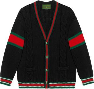 Gucci DIY unisex wool cardigan
