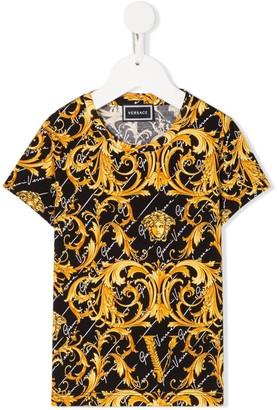 Versace baroque pattern T-shirt