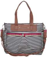 Babymel CARA Baby changing bag stripe navy