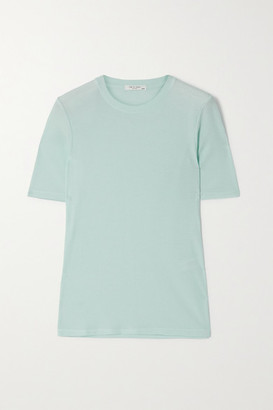 Rag & Bone Ribbed Cotton And Modal-blend T-shirt