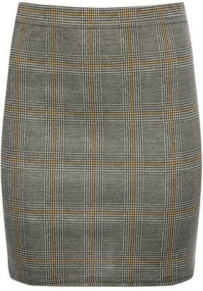 M&Co Teen check tube skirt