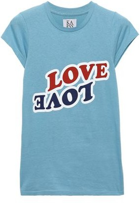 Zoe Karssen Love Love Printed Cotton-jersey T-shirt