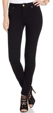 INC International Concepts Inc Petite Curvy-Fit Ponte Skinny Pants, Created for Macy's