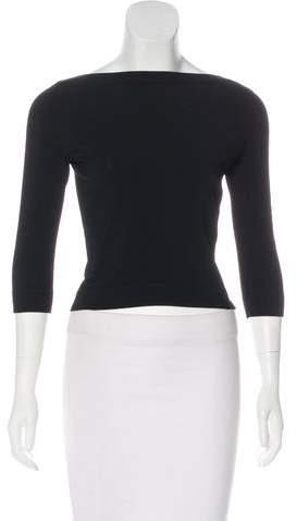 Alaia Long Sleeve Knit Top