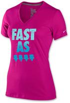 Nike Women's Fast As V-Neck