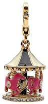 Juicy Couture Merry-Go-Round Carousel Charm - Gold Plated Lobster Claw Clasp