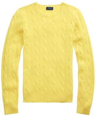 Polo Ralph Lauren Julianna Cashmere Cable-Knit Sweater