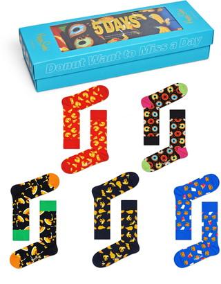 Happy Socks Assorted 5-Pack Junk Food Socks