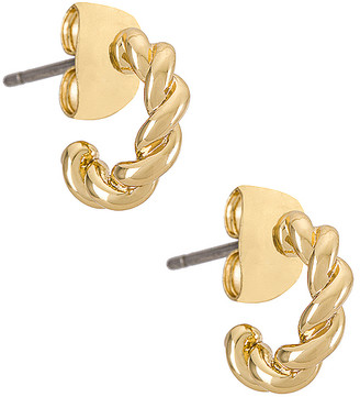 Five and Two jewelry Quinn Gold Plated Earring
