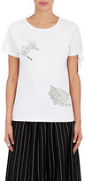 J.W.Anderson Women's Cotton Studded T-Shirt-WHITE