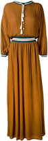 Roberto Collina long tassel detail dress - women - Cotton/Nylon/Polyester/Viscose - S