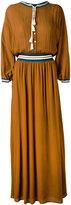 Roberto Collina long tassel detail dress - women - Cotton/Nylon/Viscose/Spandex/Elastane - S