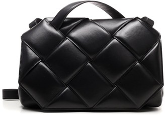 Bottega Veneta Woven Top Handle Bag