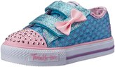 Skechers Twinkle Toes Shuffles Sweet Steps Sneaker (Toddler/Little Kid)