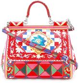 Dolce & Gabbana Sicily Mambo print tote - women - Calf Leather/Leather - One Size