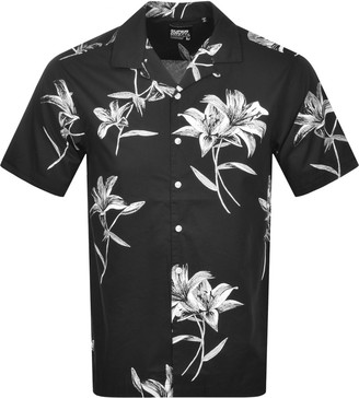 Superdry Hawaiian Box Short Sleeve Shirt Black
