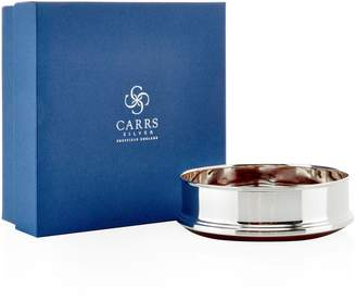 """Carrs of Sheffield Silver Sterling Silver Straight Bottle Coaster 5"""""""