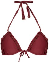 Vix Paula Hermanny V I X Paula Hermanny Bohemian Burgundy Bikini Top