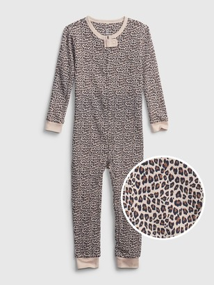 Gap babyGap Leopard Print One-Piece
