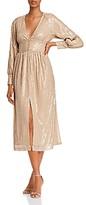 O.P.T O.p.t Hera Sequin Peasant Dress