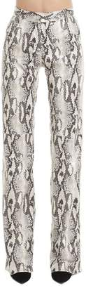 MSGM Snake Effect Bootleg Trousers