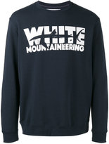 White Mountaineering shark print sweatshirt