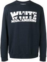 White Mountaineering shark print sweatshirt