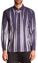 Issey Miyake Wrinkle Check Woven Sportshirt