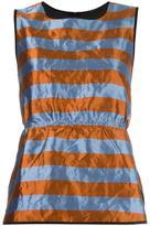 Odeeh metallic striped top