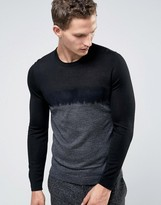 Ted Baker Ombre Knitted Sweater