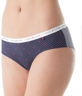 Tommy Hilfiger R17T023 Logo Band Hipster Panty (Monogram Diamonds M)