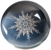 Crane & Co. Engraved Snowflake Paperweight