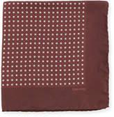 Tom Ford Neat Dot Silk Twill Pocket Square