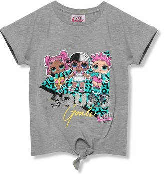 M&Co Lol Surprise two way sequin slogan t-shirt (5-9yrs)